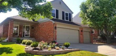 Highlands Ranch Single Family Home Under Contract: 2356 Thistle Ridge Circle