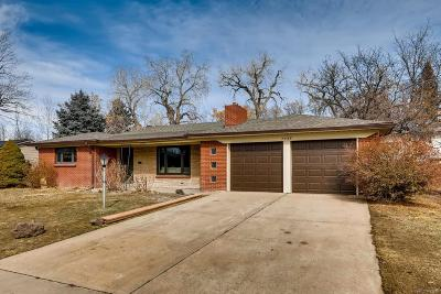 Single Family Home Under Contract: 7255 West 31st Place