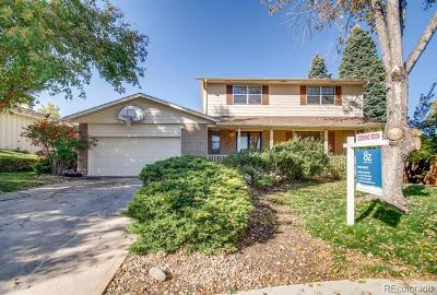 Centennial Single Family Home Active: 6061 South Monaco Way