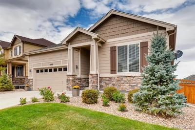 Castle Rock Single Family Home Active: 7499 Blue Water Drive