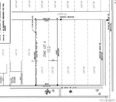 Denver Residential Lots & Land Active: 2418 North Gilpin Street