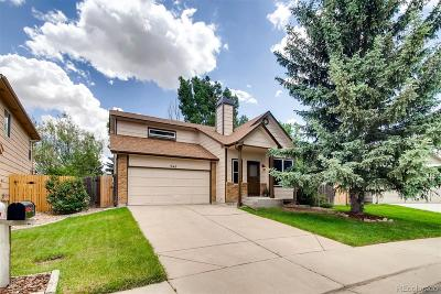 Castle Rock Single Family Home Under Contract: 240 North Holcomb Circle
