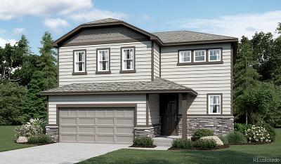 Castle Rock CO Single Family Home Active: $435,144