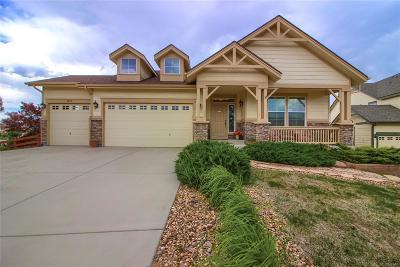 Castle Rock Single Family Home Under Contract: 3098 Arroyo Verde Court