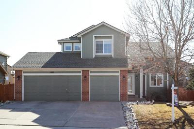 Castle Rock Single Family Home Under Contract: 5087 Stonecrop Circle