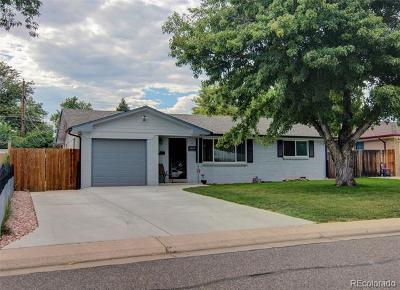 Lakewood Single Family Home Active: 1553 South Benton Street