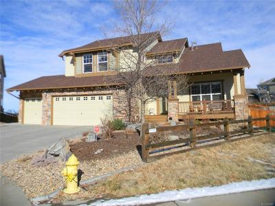 Castle Rock Single Family Home Under Contract: 4473 Arches Place