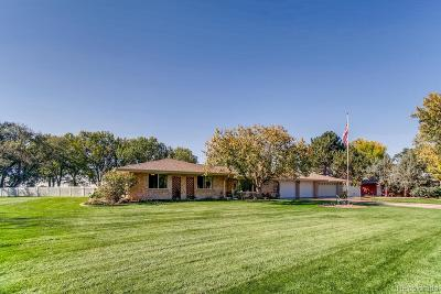 Brighton Single Family Home Under Contract: 14441 Country Hills Drive