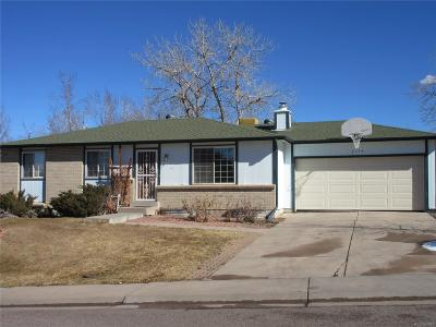 Littleton CO Single Family Home Under Contract: $359,900