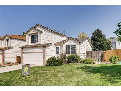 Castle Rock Single Family Home Under Contract: 278 Benton Street
