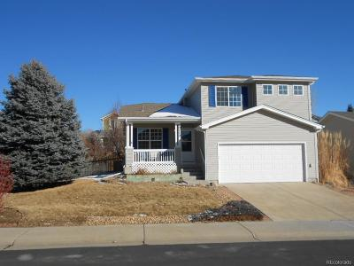 Parker Single Family Home Active: 10770 Mount Bross Way
