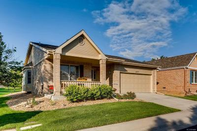 Highlands Ranch Single Family Home Under Contract: 5777 Greenspointe Way