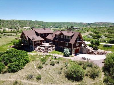 Castle Rock Single Family Home Active: 2379 Haystack Road