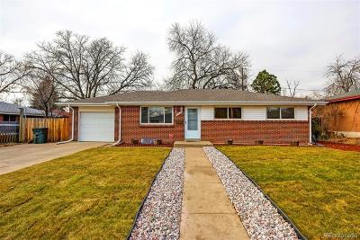 Denver Single Family Home Active: 8631 Ogden Street