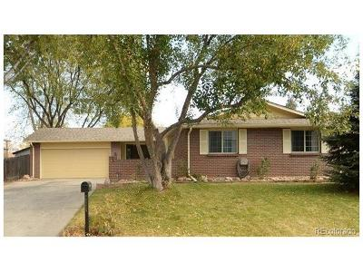 Arvada Single Family Home Under Contract: 8582 Gray Court