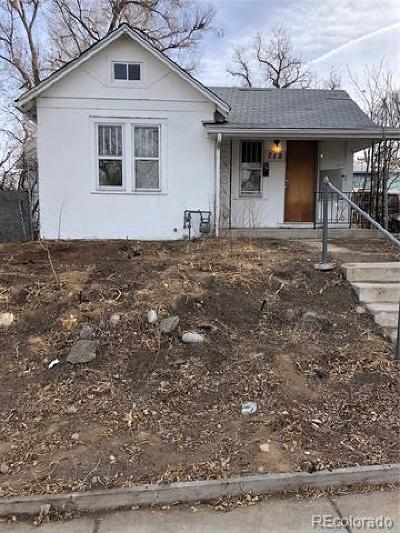 Denver Single Family Home Under Contract: 712 Meade Street