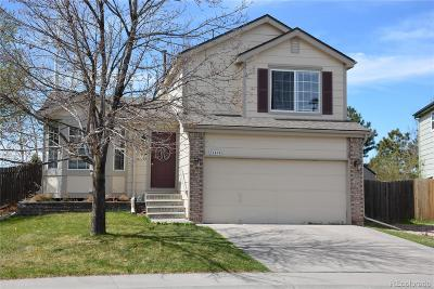 Centennial Single Family Home Under Contract: 21494 East Crestline Lane