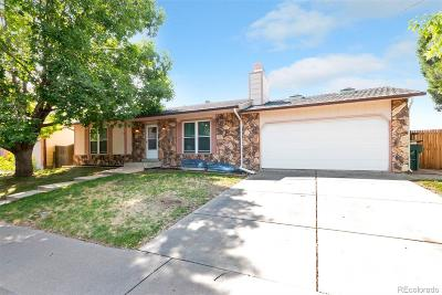 Thornton Single Family Home Under Contract: 4182 East 91st Drive