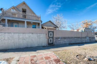 Denver Single Family Home Active: 3455 North Downing Street
