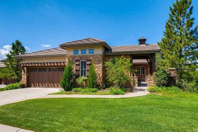 Castle Rock CO Single Family Home Under Contract: $1,000,000