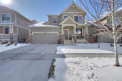 Arvada Single Family Home Under Contract: 8423 Gladiola Street
