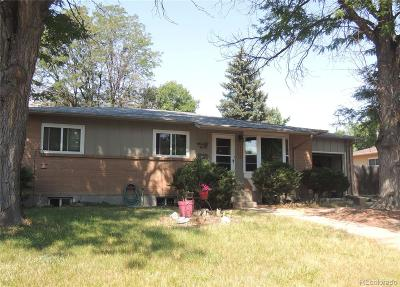 Arvada Single Family Home Active: 6693 Kipling Street