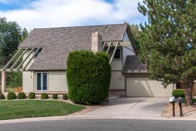 Centennial Single Family Home Under Contract: 3871 East Irwin Place