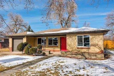 Lakewood CO Single Family Home Active: $450,000
