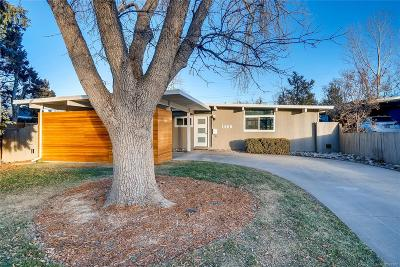 Denver Single Family Home Under Contract: 1488 South Fairfax Street