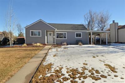 Aurora Single Family Home Under Contract: 1970 Lansing Street