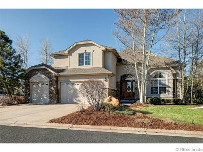 Castle Pines CO Single Family Home Sold: $799,000