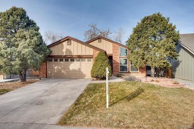 Arapahoe County Single Family Home Active: 7951 South Quince Way