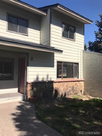 Steamboat Springs CO Condo/Townhouse Active: $284,500