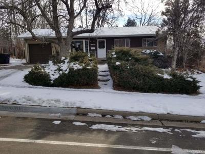 Denver Single Family Home Active: 2760 South Raleigh Street