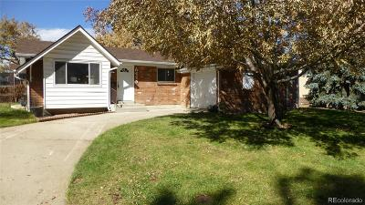 Arvada Single Family Home Active: 6475 Newland Street