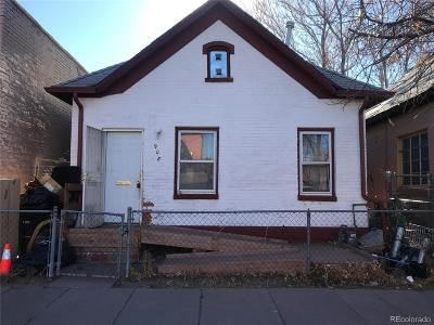 Denver Single Family Home Under Contract: 908 West 9th Avenue