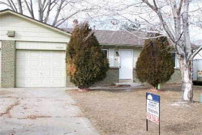 Wheat Ridge Condo/Townhouse Under Contract: 4595 Routt Street