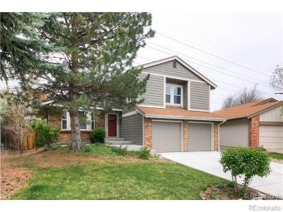 Centennial CO Single Family Home Under Contract: $459,900