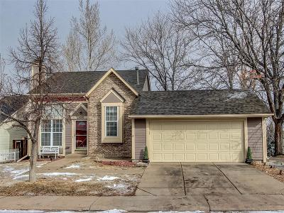 Aurora Single Family Home Under Contract: 19797 East Hamilton Place