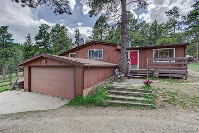 Conifer Single Family Home Under Contract: 27651 Shadow Mountain Drive