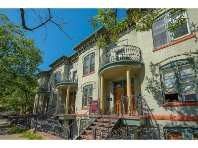 Uptown Condo/Townhouse Active: 1315 East 17th Avenue