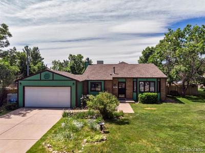 Littleton Single Family Home Active: 7690 West Stene Drive