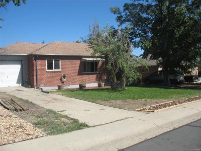 Thornton Single Family Home Active: 1521 Rowena Street