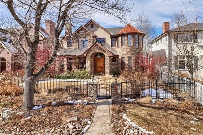 Denver County Single Family Home Active: 1417 South Elizabeth Street