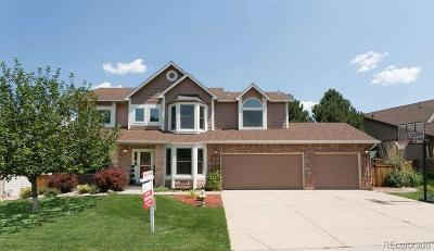 Highlands Ranch Single Family Home Under Contract: 9556 Cherryvale Drive