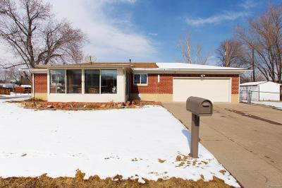 Wheat Ridge Single Family Home Active: 10595 West 38th Place