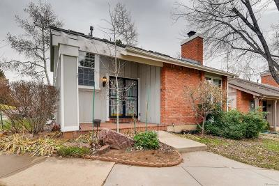 Centennial Single Family Home Under Contract: 7707 East Jamison Drive