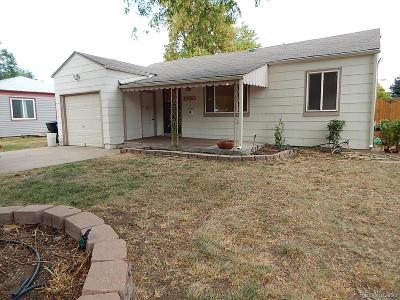 Denver Single Family Home Under Contract: 1980 South Irving Street