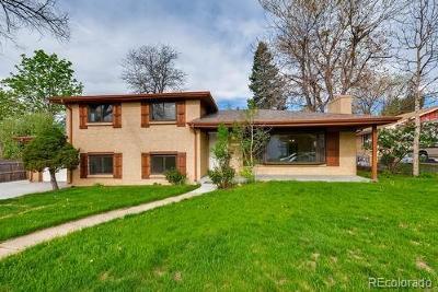 Littleton Single Family Home Active: 6373 Elati Street