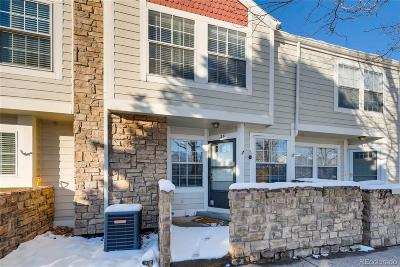 Littleton Condo/Townhouse Under Contract: 329 West Jamison Circle #25